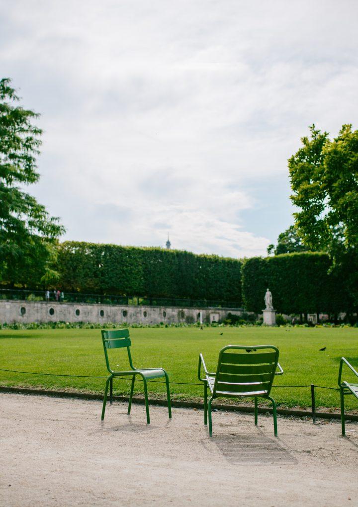 Five Paris Autumn Walks: Pere-Lachaise, Tuileries, Luxembourg, Buttes Chaumont, Monceau